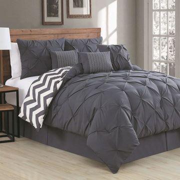 Avondale Manor Ella Pinch Pleat Comforter Set