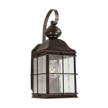 Forte Lighting 18006-01 1 Light Outdoor Wall Sconce