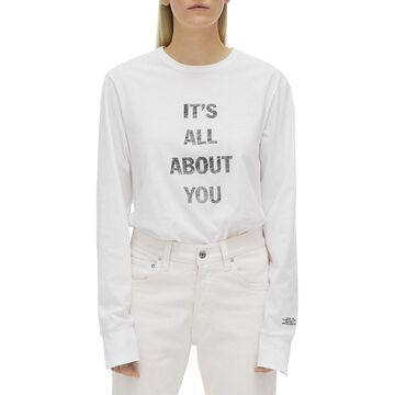 Helmut Lang It's All About You Long Sleeve T-shirt