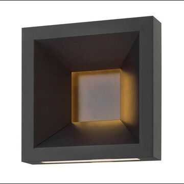 Hinkley Lighting 20300 1 Light LED ADA Compliant Outdoor Wall Sconce from the Plaza Collection Bronze Outdoor Lighting Wall Sconces Outdoor Wall