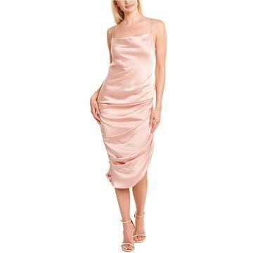 Jonathan Simkhai Fluid Satin Midi Dress