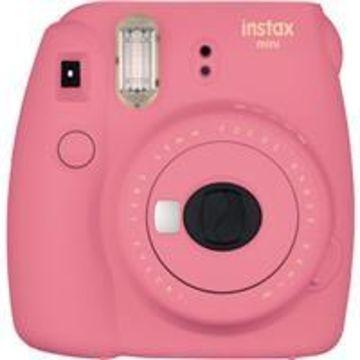 Fujifilm Instax Mini 9 Camera, Flamingo Pink