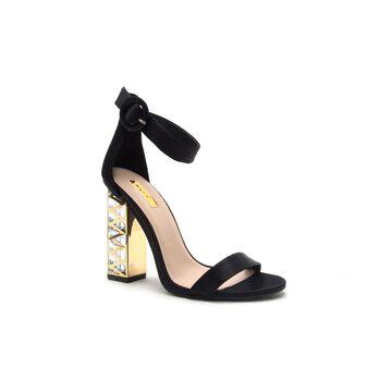 Qupid Womens Lumi-07x Heeled Sandals