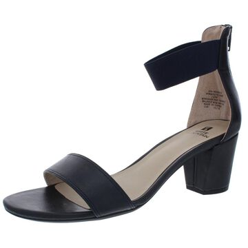 Cliffs by White Mountain Womens Elinie Faux Leather Evening Dress Sandals