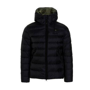 Down Jacket Blauer