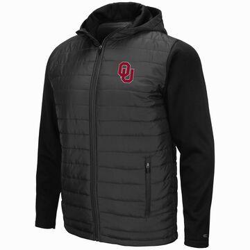 Mens NCAA Oklahoma Sooners Everest Full Zip Jacket