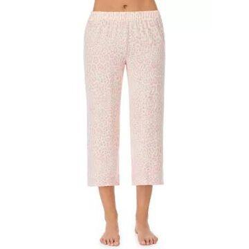 Ellen Tracy Women's Animal Print Pajama Capris - -