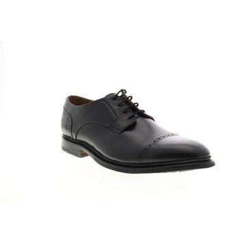 Bostonian Bridgeport Cap Leather Black Mens Cap Toe Oxfords & Lace Ups