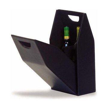 Double Bottle Box, Black