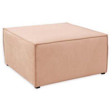 Skyline Furniture Kenia Ottoman in Pink