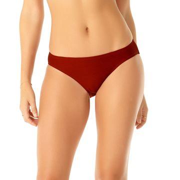 Studio Solid Goddess Ribbed Bikini Bottoms