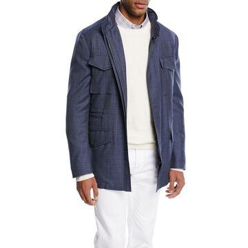Textured Wool Field Jacket