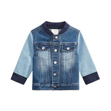 Baby Boys Colorblocked Denim Jacket, Created for Macy's