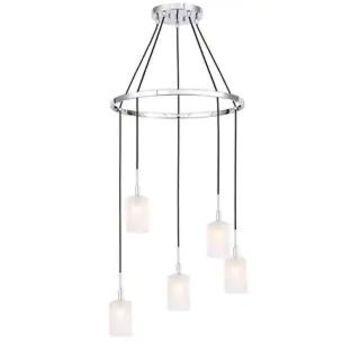 Woodbridge Lighting Elise LED 5L Pendant Chandelier
