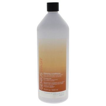 Genius Wash Cleansing Conditioner for Unruly Hair by Redken for Unisex - 33.8 oz Conditioner