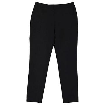 Carolina Herrera Black Cotton Trousers