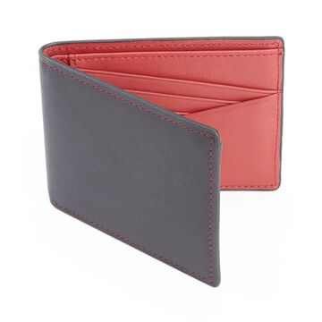 Royce Leather 100-step Wallet RFID Men's Slim Bifold Wallet