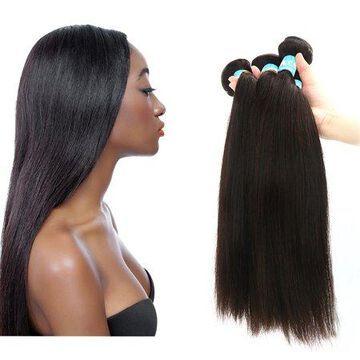 Unique Bargains Straight Human Hair Extension 18