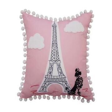 "Waverly Kids Ooh La La Decorative Pillow, 15"" x 15"" Bedding"
