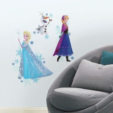 Disney's Frozen Anna, Elsa & Olaf Peel & Stick Giant Wall Decals
