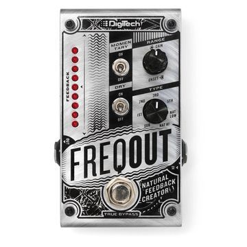 DigiTech FreqOut Natural Feedback Creator Guitar Effects Pedal True Bypass