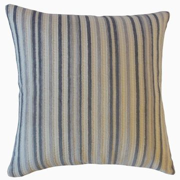 The Pillow Collection Gauthier Striped Decorative Throw Pillow