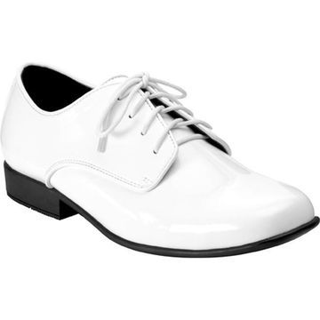 Touch Ups Men's Nick White Patent