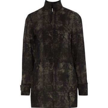 Akris Printed Wool Top