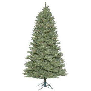 Vickerman Artificial Christmas Tree 9' x 62'' Slim Colorado 1200 LED Warm White Lights / 2)ctn