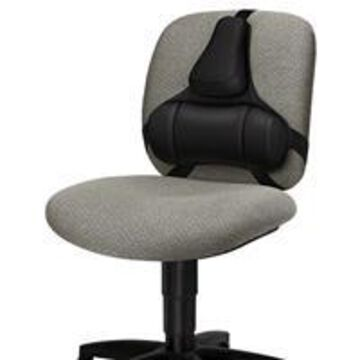 Fellowes Professional Series Back Support, Black
