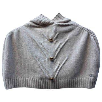 Blumarine White Wool Coats