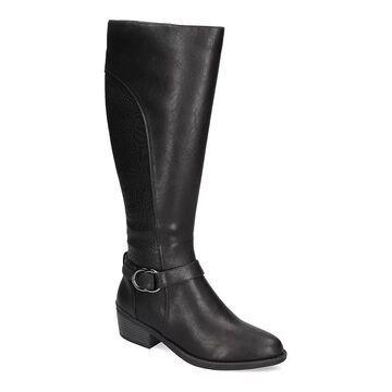 Easy Street Luella Women's Knee-High Boots, Size: 7 XW, Black