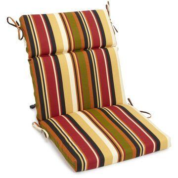 Blazing Needles Designer Indoor/Outdoor Chair Cushion