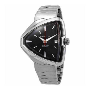 Hamilton Men's H24555131 'Ventura Elvis80' Automatic Stainless Steel Watch