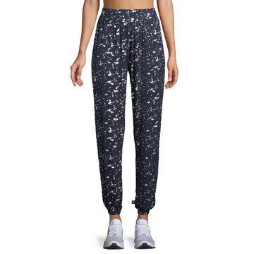 Splatter Foil Jogger Lounge Pants