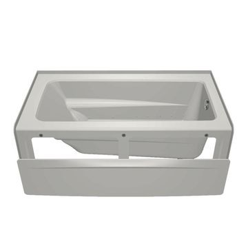 Jacuzzi Primo 60-in White Acrylic Rectangular Right-Hand Drain Alcove Air Bath