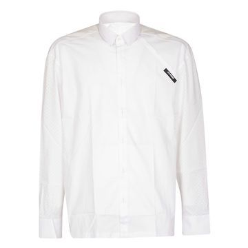 Les Hommes Les Hommes Velcro Patched Long Sleeves Shirt