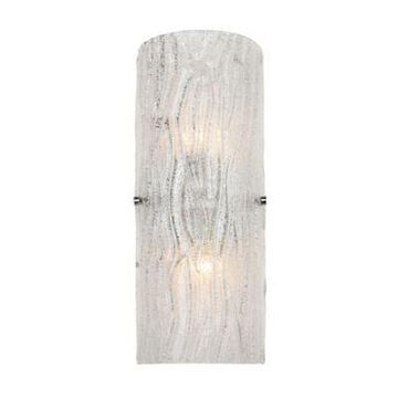 Varaluz Brilliance 2-Light Wall Sconce in Chrome