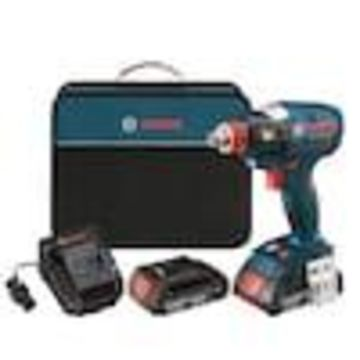 Bosch Freak 18-Volt Variable Speed Brushless Cordless Impact Driver (Charger and 2-Batteries Included)