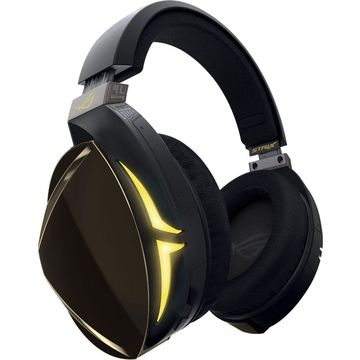 ASUS - Wired Stereo Gaming Headset - Yellow/Black