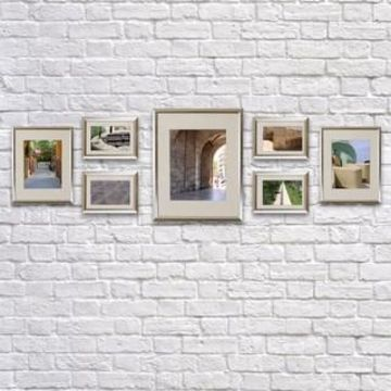 Silver 7-Piece Frame Set By Studio Decor