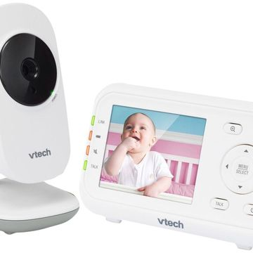 VTech VM3252 2.8 Digital Video Baby Monitor with Full-Color and Automatic Ni...