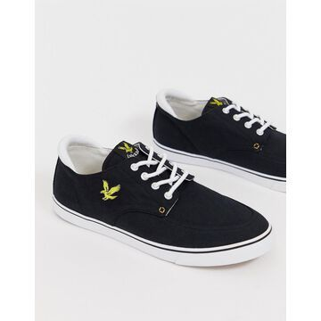 Lyle & Scott cotton sneakers
