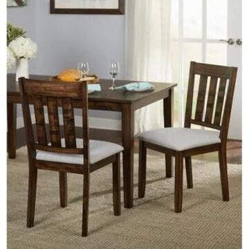 Simple Living Olin Dining Chairs (Set of 2) (Brown)