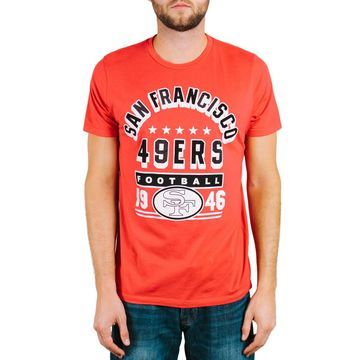 San Francisco 49ers Junk Food Kickoff T-Shirt - Scarlet