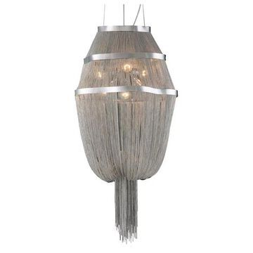 PLC Lighting 6-Light Chandelier Formae Collection 70015 SN