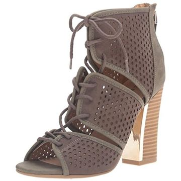 Call It Spring Womens Ciracia Faux Suede Lace Up Dress Sandals