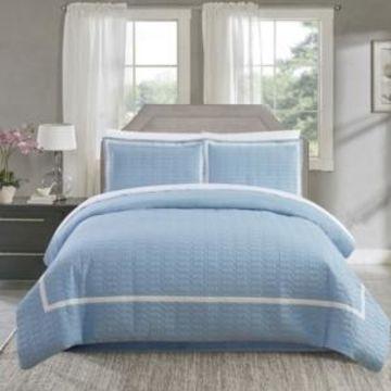 Chic Home Faige 3 Pc Queen Duvet Cover Set Bedding