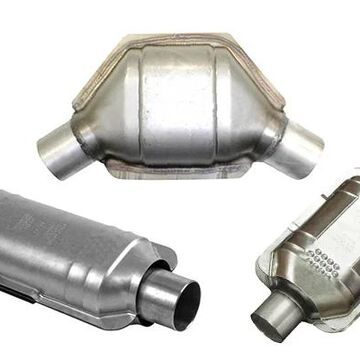 Eastern Catalytic Universal Catalytic Converters (50-State Legal), Rear Unit