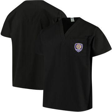 Concepts Sport Black Orlando City SC Scrub Top